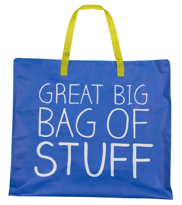 bag blue tote bag