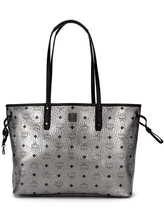 bag shoulder bag print metallic