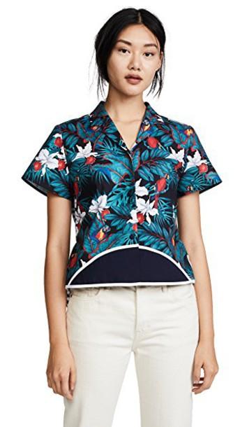 Harvey Faircloth top back short hawaiian
