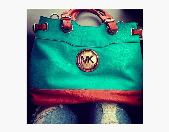 turquoise bag purse michael kors must have