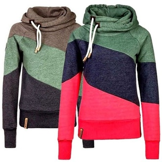sweater blue green pink grey gray hoodie hoodie swag jacket hoodies shirt
