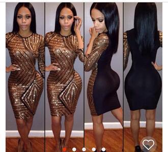 dress black dress sparkle sparkly dress