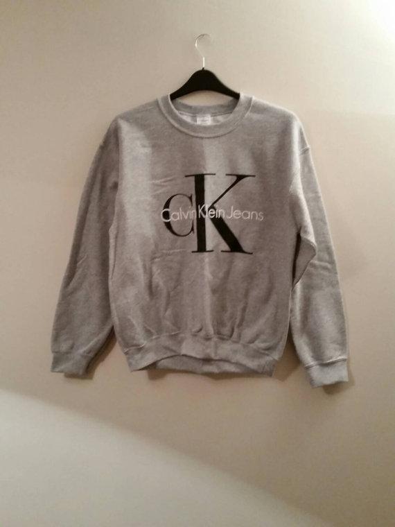 Brand New On Trend Calvin Klein Sweatshirt Jumper Top