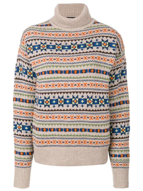 Joseph jumper turtleneck women nude wool sweater