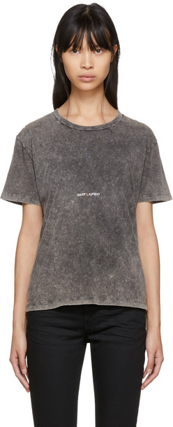Saint Laurent t-shirt shirt t-shirt vintage grey top