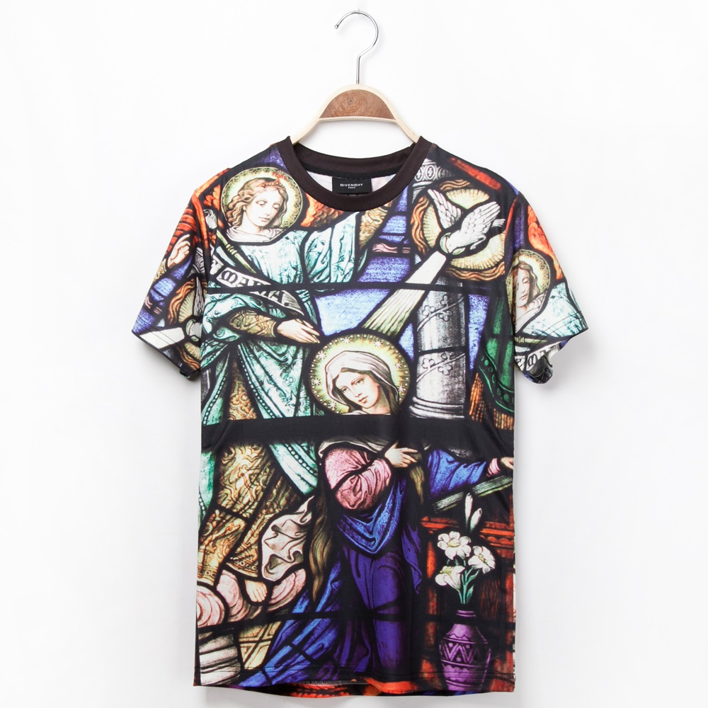 Sale!2014 Spring 3D Fashion Shirts For Women/Men Galaxy Paint Print Short Sleeve Novely T Shirt Top Plus Size Clothes M/L/XL/XXL-inT-Shirts from Apparel & Accessories on Aliexpress.com