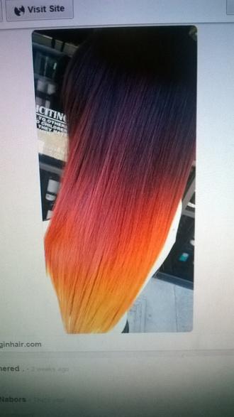 hair accessory red dye