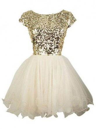 dress sequin homecoming dress hot-selling a-line short scoop capped sleeves  dress chiffon dress