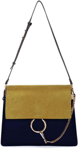 bag navy yellow