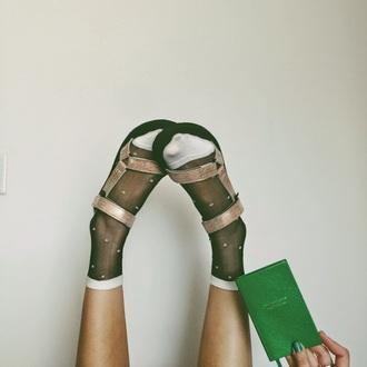 color me nana blogger socks sandals metallic