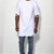 Bulls Of Summer byHOT White Distressed Long Tee