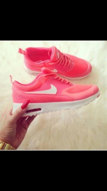 shoes nike air max thea pink shoes nike shoes wheretogetit??? fashion air max