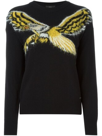 sweater eagle black