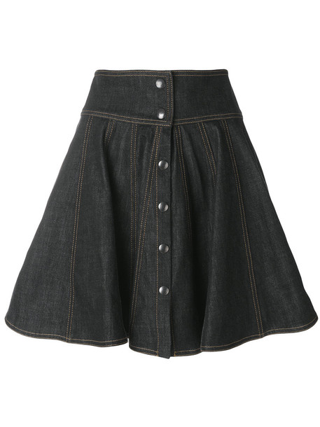 Philosophy di Lorenzo Serafini skirt denim skirt denim women cotton blue