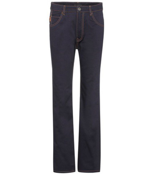 Prada Flared jeans in blue