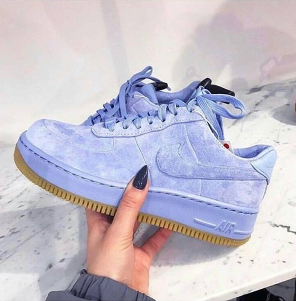 nike air force 1 velvet zwart