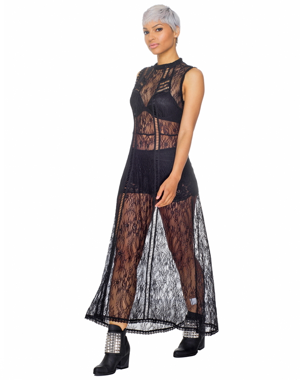 COLETTE Lace Maxi Dress – FLYJANE