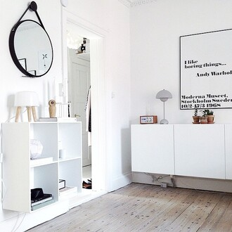 home accessory mirror home decor hipster all white everything