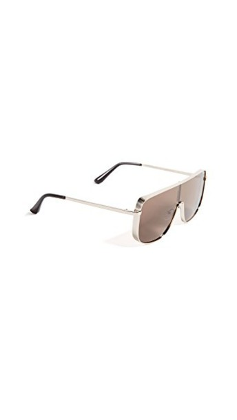 Quay sunglasses gold brown