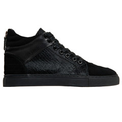 Embossed Pony Fur Virtue Sneaker