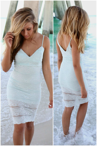 dress mid length fitted body con mint midi amazinglace.coma amazinglace.com amazinglace summer beach lace midi length