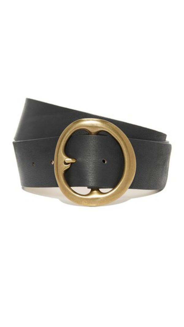 B-Low The Belt Bell Bottom Belt in black