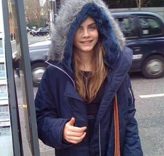 coat cara delevingne