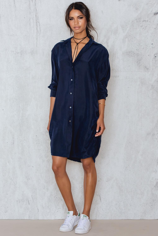 Filippa K Silk Shirt Dress