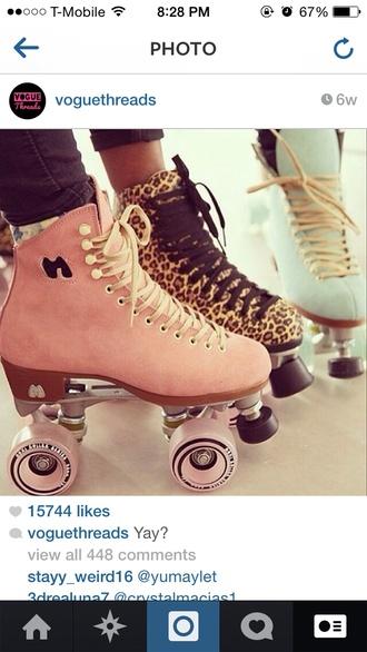 shoes roller skates vintage