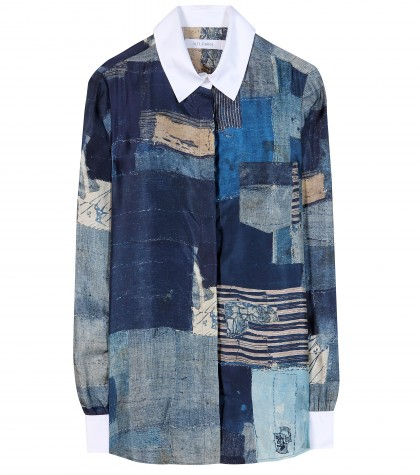 mytheresa.com -  Chika printed silk shirt - Long-sleeved - Tops - Clothing - Luxury Fashion for Women / Designer clothing, shoes, bags