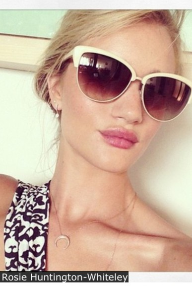 rosie huntington-whitley sunglasses