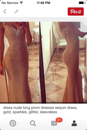 dress sparkle dream dress nude dress sparkles. prom dress prom gown bodycon dress crystal