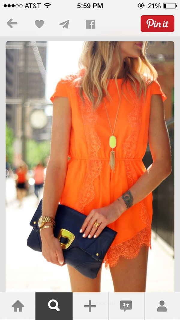 jumpsuit tribal pattern romper style fashion orange dress