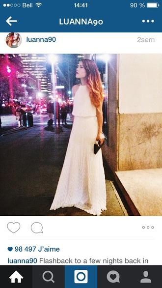 dress luanna90 long dress