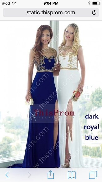 dress prom dress gown dress with slit slit dress prom prom gown designer prom dress long prom dress blue prom dress