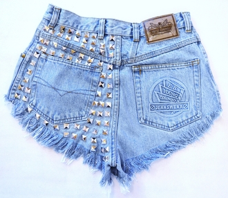 shorts jeans ripped jeans studded shorts pants denim shorts high waisted shorts dress