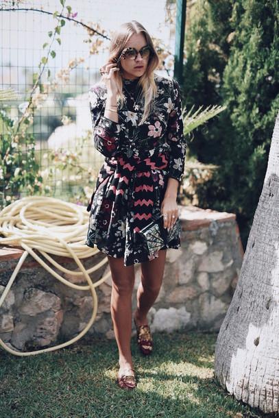 en vogue coop blogger dress sweater shoes