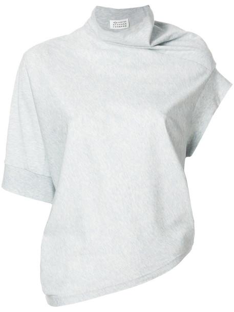 MAISON MARGIELA top women cotton grey