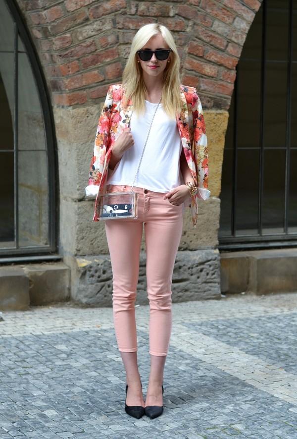 vogue haus t-shirt pants jacket shoes bag sunglasses jewels
