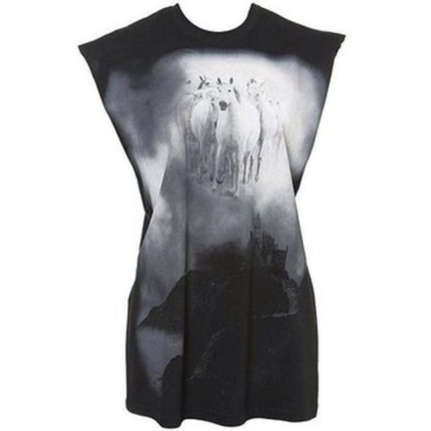 shirt effy stonem skins skins black and white t-shirt