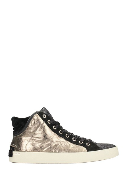 CRIME sneakers gold silver shoes