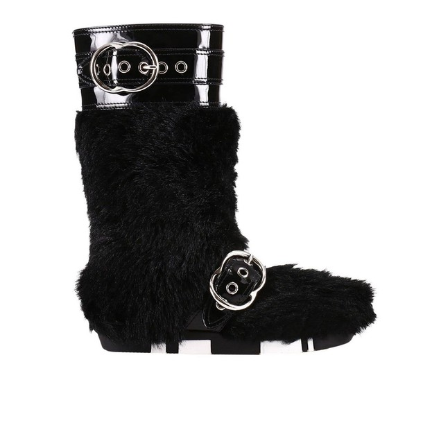 Miu Miu boots shoes women shoes black