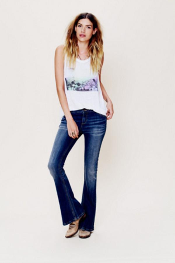 jeans pants bottoms denim flares blue pants jeans apparel accessories clothes pants jeans