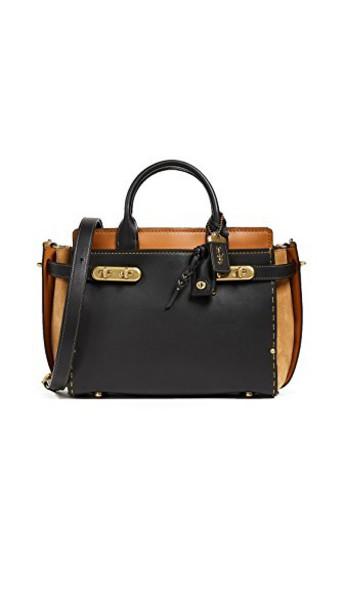 coach bag black