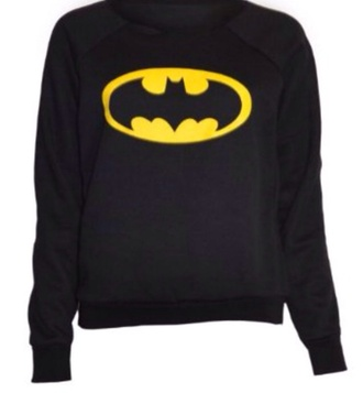 sweater batman yellow black