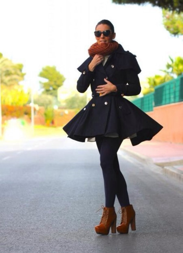 coat double breasted aliexpress sheinside