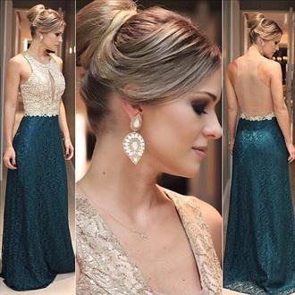 dress prom prom dress backless dream dress blue turquoise fashion fashionista style girly bridesmaid maxi dress long long dress cute amazing gorgeous
