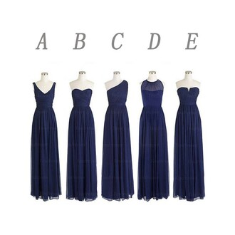 dress navy mismatched bridesmaid wedding navy bridesmaid dresses