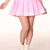 Glitters For Dinner — Made To Order - Baby Pink Cheerleading Skirt