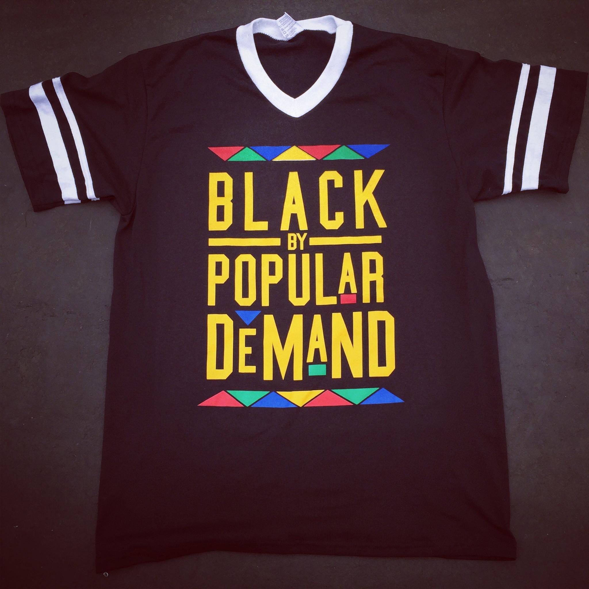 BLACK BY POPULAR DEMAND UNI JERSEY SHIRT